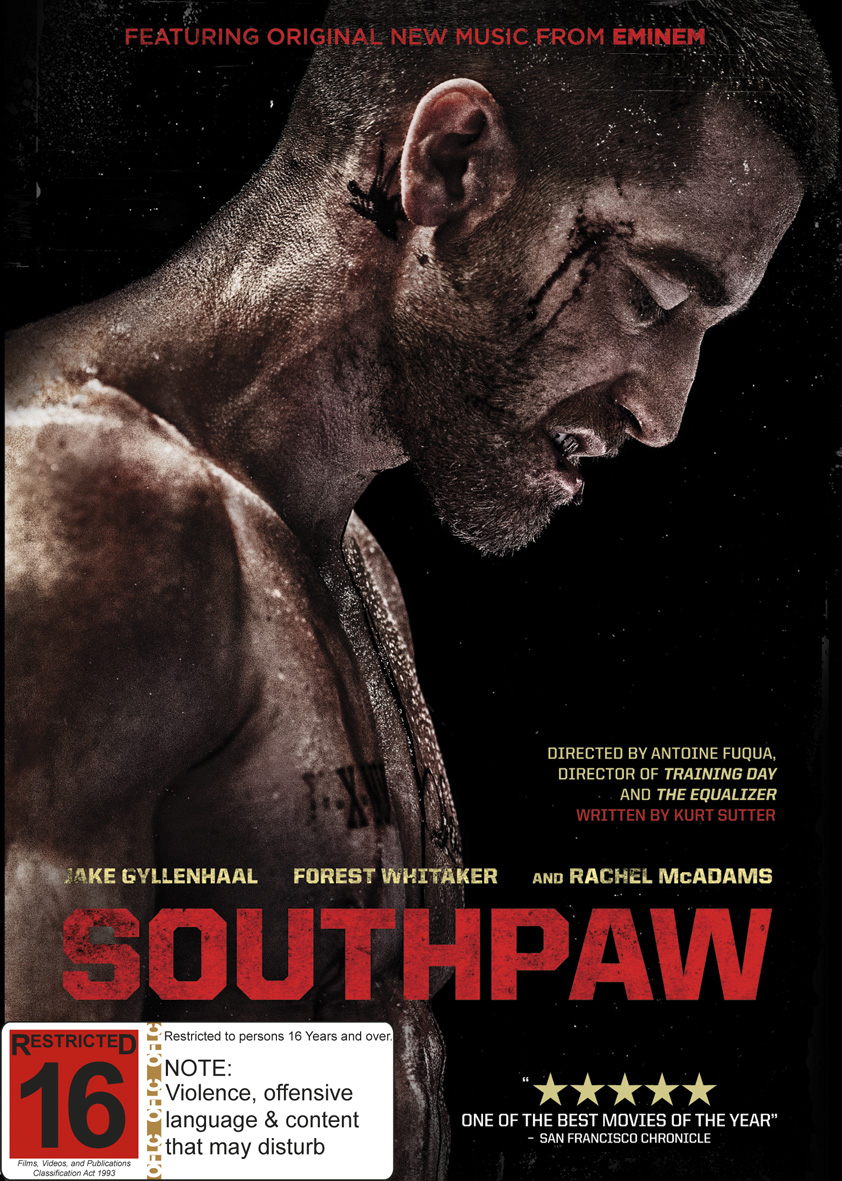 Southpaw on DVD image