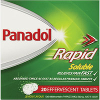 Panadol Rapid Soluble Tablets (20pk)