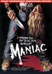Maniac on DVD