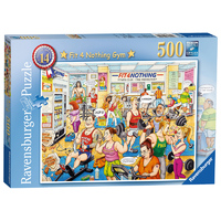 Ravensburger: Fit 4 Nothing Gym - 500pc Puzzle