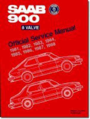 Saab 900 8-valve Official Service Manual 1981-88 by Bentley Publishers image