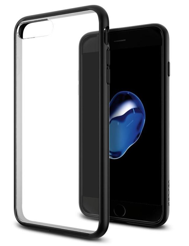 Spigen: iPhone 7 Plus - Ultra Hybrid Case (Black)