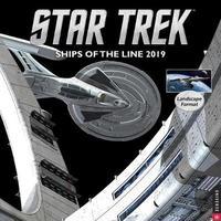 Star Trek Ships of the Line 2019 Wall Calendar by CBS
