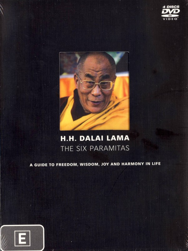 Dalai Lama, H.h.: The Six Paramitas (4 Disc) on DVD image
