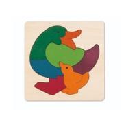 Hape: Rainbow Duck Puzzle