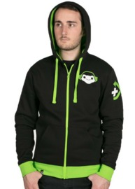 Overwatch Ultimate Lucio Zip-Up Hoodie (Large)