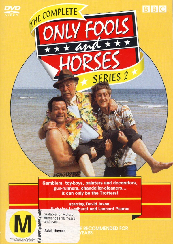 Only Fools And Horses - Complete Series 2 on DVD image
