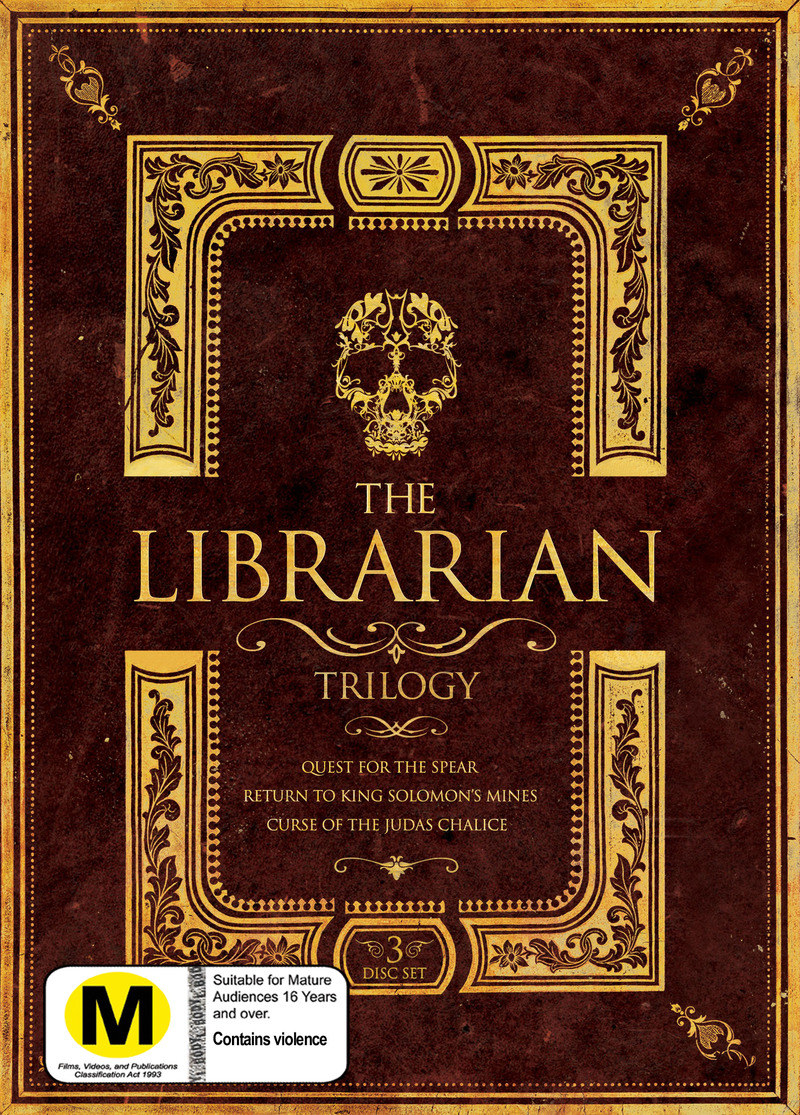 The Librarian Trilogy (3 Disc Set) on DVD image