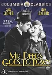 Mr.deeds Goes To Town on DVD