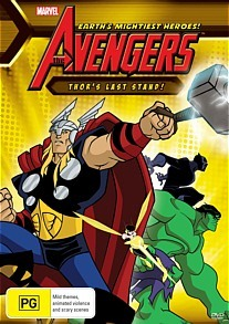 The Avengers: Thors Last Stand on DVD image