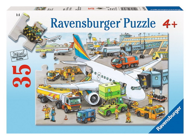 Ravensburger 35 Piece Jigsaw Puzzle - Busy Airport