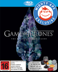 Game of Thrones - The Complete Fifth Season - Mighty Ape Exclusive Packaging on Blu-ray