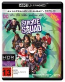 Suicide Squad - Extended Edition on Blu-ray, UHD Blu-ray