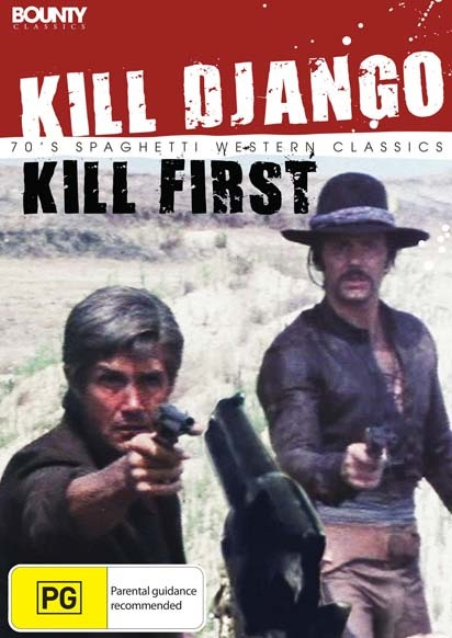 Kill Django, Kill First on DVD image