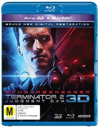 Terminator 2: Judgement Day 3D on Blu-ray, 3D Blu-ray