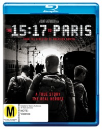 The 15:17 to Paris on Blu-ray