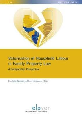 Valorisation of Household Labour in Family Property Law by Leon Verstappen image