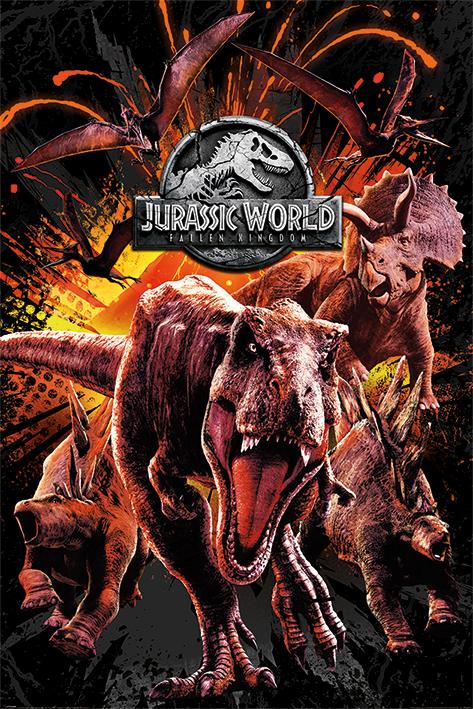 Jurassic World Maxi Poster - Kingdom Montage (790)