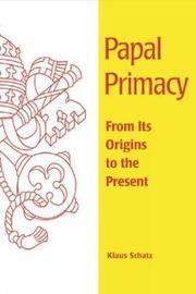 Papal Primacy by Klaus Schatz image
