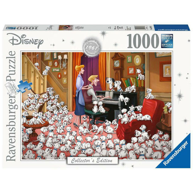 Ravensburger: 1,000 Piece Puzzle - Disney Moments (101 Dalmatians)