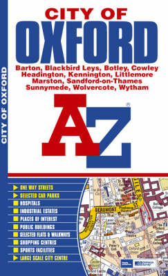 Oxford (City Of) Street Atlas by Great Britain image