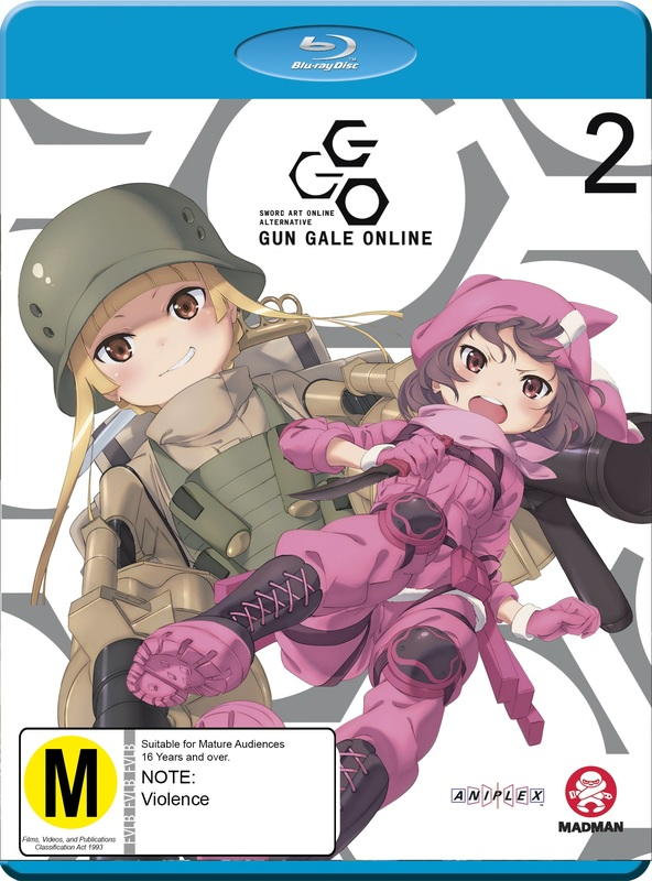 Sword Art Online Alternative: Gun Gale Online - Part 2 (Eps 7-12) on Blu-ray