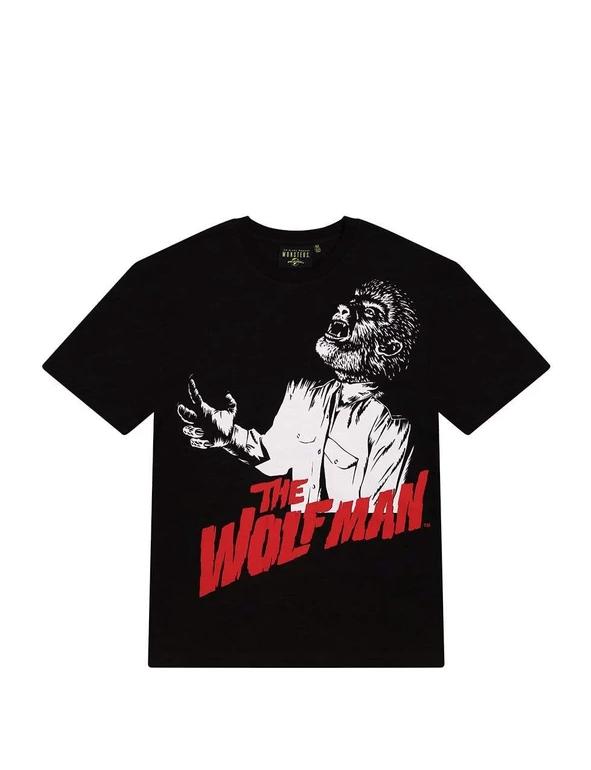Criminal Damage: Universal Monsters Wolfman Tee - Large