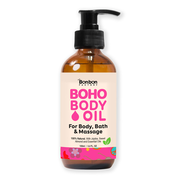 The Bonbon Factory: Boho Body Oil
