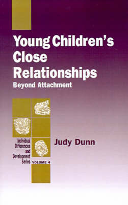 Young Children's Close Relationships by Judy Dunn image