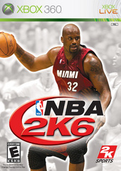 NBA 2K6 for X360