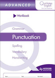 Quickstep English Workbook Punctuation Advanced Stage by Sue Hackman