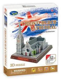 3D Puzzle - Christchurch Cathedral