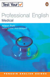 Test Your Professional English: Medicine by J.S. McKellen image
