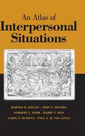 An Atlas of Interpersonal Situations by Harold H Kelley image