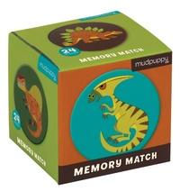 Mudpuppy: Mini Memory Game - Mighty Dinosaurs