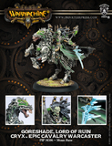 Warmachine: Cryx Goreshade Lord of Ruin Epic Warcaster