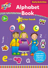 Alphabet Sticker Book - by Galt