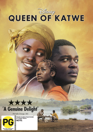 Queen of Katwe on DVD