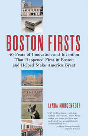 Boston Firsts! by Lynda Morgenroth image