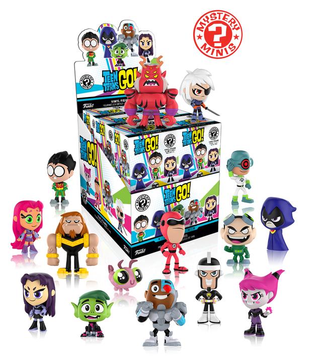 Teen Titans Go! S1 - Mystery Minis (Blind Box)