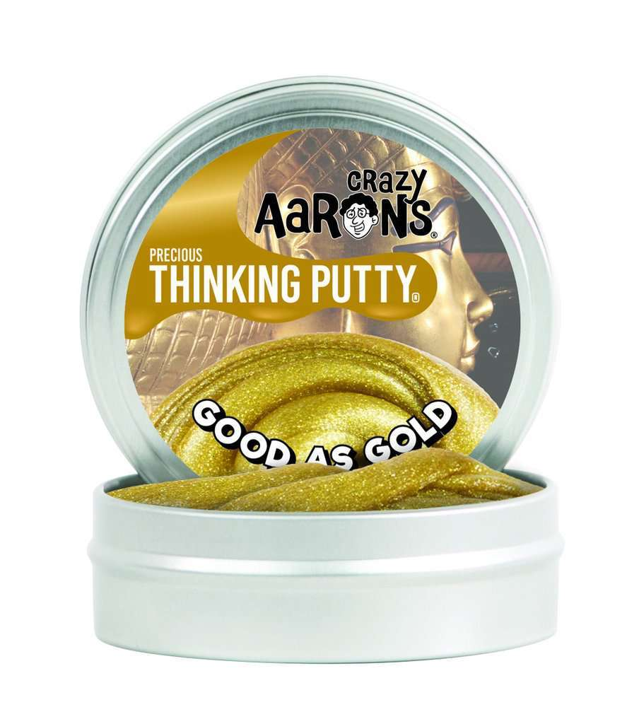 Crazy Aarons Thinking Putty: Good As Gold image