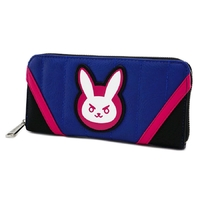 Loungefly: Overwatch - D.Va Zip-Around Wallet