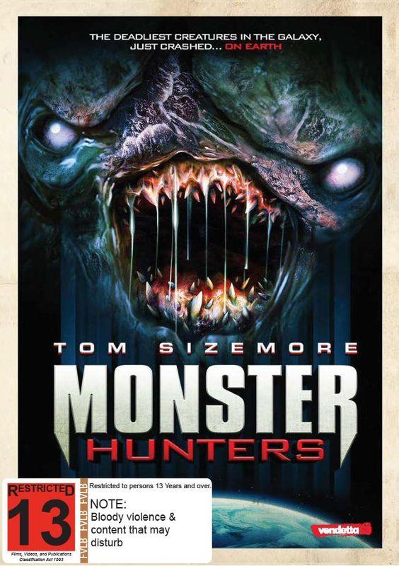 Monster Hunters on DVD