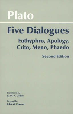 Plato: Five Dialogues by Plato image