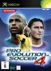 Pro Evolution Soccer 4 for Xbox