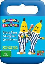 Bananas in Pyjamas Story Time/ Its Game Time/ Celeb on DVD