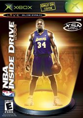 NBA Inside Drive 2004 for Xbox