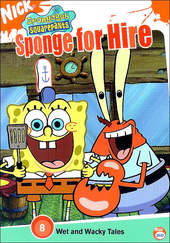 Spongebob Squarepants: Sponge For Hire on DVD