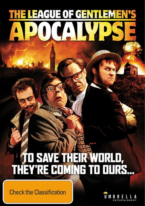 The League Of Gentlemen's Apocalypse on DVD