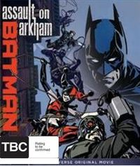 Batman: Assault on Arkham on DVD